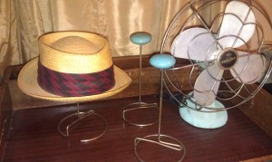 Hat stands, I'm a big fan.