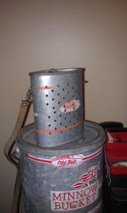 Buckets on buckets.