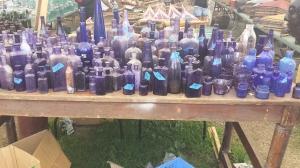 Poppin bottles.