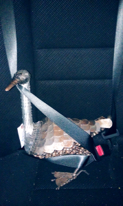 Buckle up, Lil Duck!