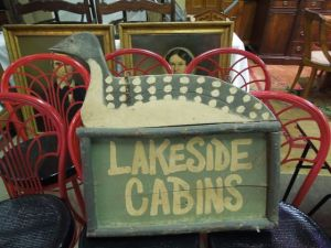 This sign sold for almost $600!